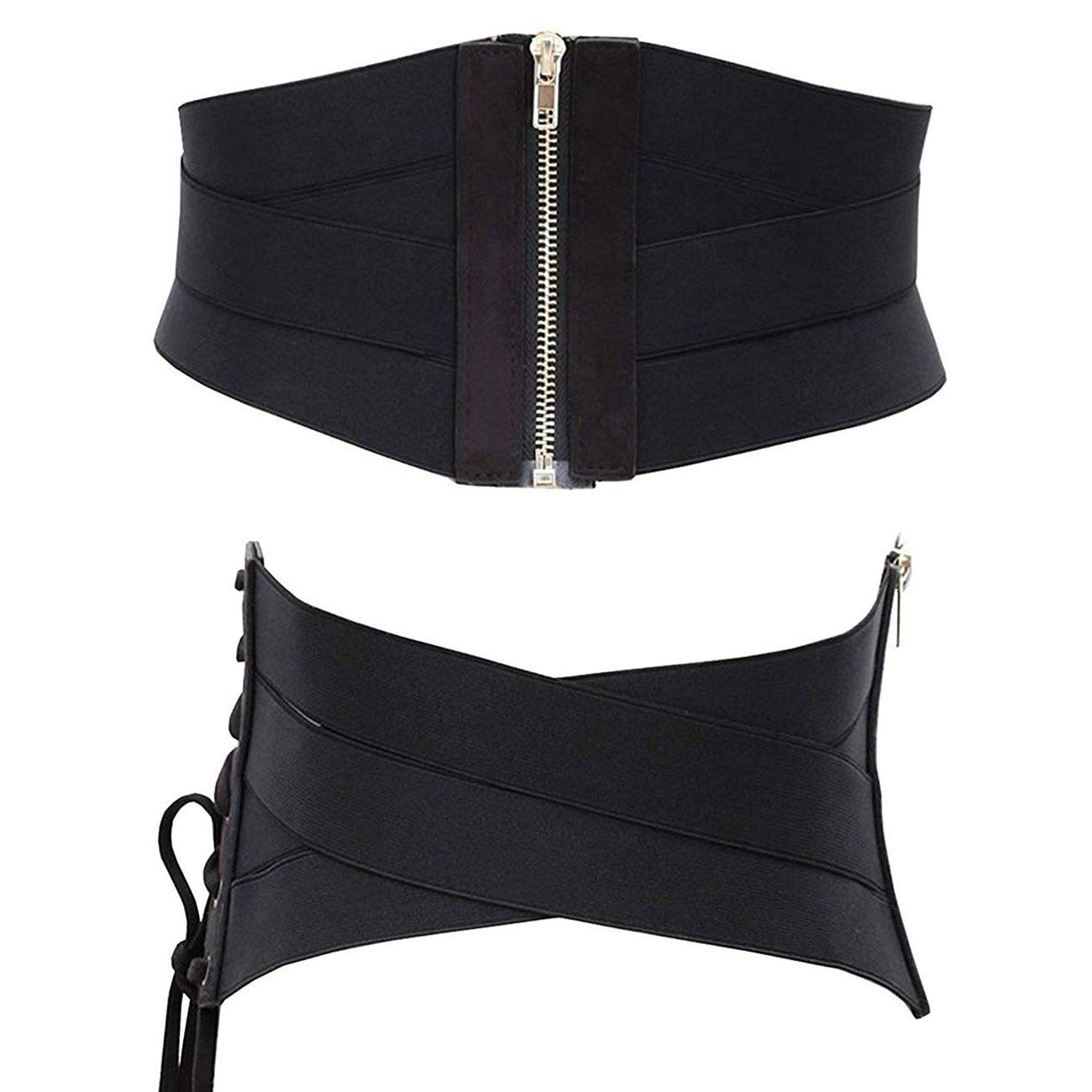 Women's Fashion Elastic Stretch Wide Band Corset Waist Belt