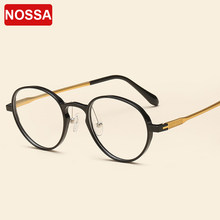 eb6b7f1b5c9 Korea Super Light Tungsten Ultem Glasses Frames Vintage Round Optical  Eyewear Frames Men Women Myopia Prescription Eyeglasses