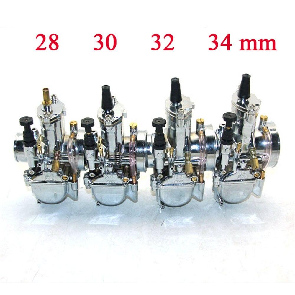 Envío gratis ZSDTRP 28 30 32 34mm color plateado modelo Pwk - Accesorios y repuestos para motocicletas - foto 3