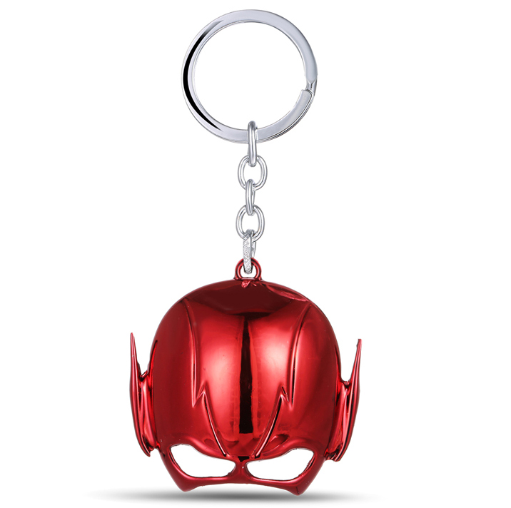 MS JEWELS Movie The Flash Mask Keychain Metal Key Rings For Gift Chaveiro Key Chain