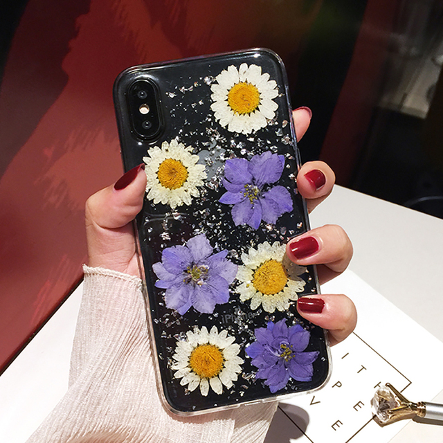 Real Dried Flower Cases For iPhone