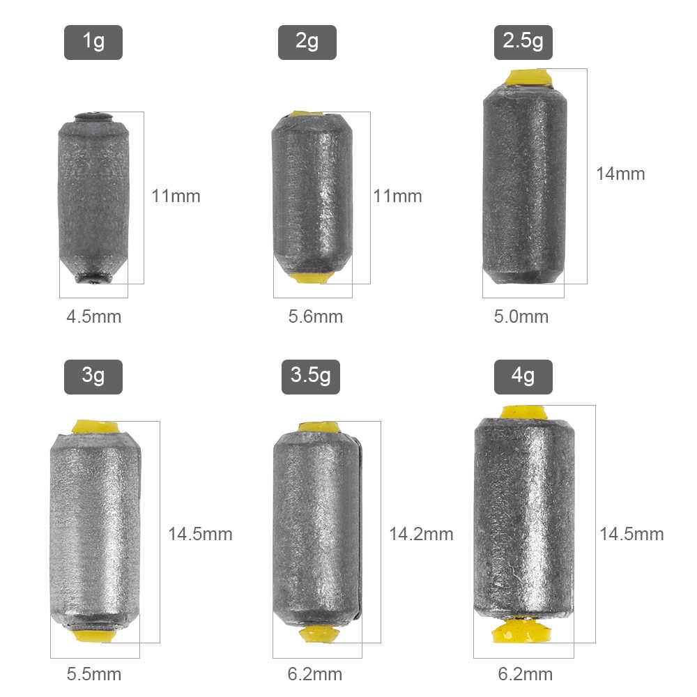 50 шт. весов быстро свинцовые грузила для окуня щуки чуб рыболовные снасти аксессуары для инструментов
