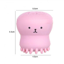 Beauty Face Skin Care Cleaning Tools Cute Octopus Jellyfish Facial Cleansing Brush Puff Massage Exfoliating Wash