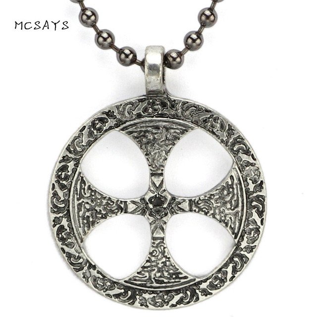 Mcsays norse viking jewelry sun cross celtic odin pendant punk mcsays norse viking jewelry sun cross celtic odin pendant punk silver color necklace men jewelry amulet aloadofball