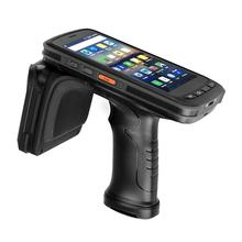 цена на RUGLINE Android8.1 Qctacore Handheld Terminal IP67 barcode Scanner 2D NFC 4G WiFi data collector UHF RFID Reader Free Shipping