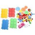 81 шт. Детей Пластиковые Блоки Игрушки Кирпичи DIY Сборка Классические Игрушки Раннего Образования Обучающие Игрушки