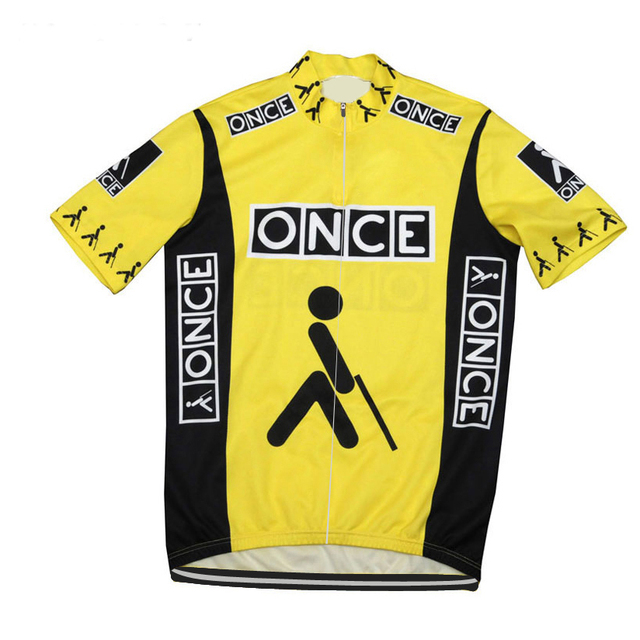 Yellow classic Cycling Jersey men short wear bike Breathable outdoor Old  style cycling clothing hot pro team maillot ciclismo 843bf04ab