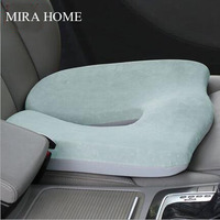 Coccyx Orthopedic Seat Pads Kitchen Chairs Lumbar Support Comfort Memory Foam Cushion Home Decor Luxury Cushion