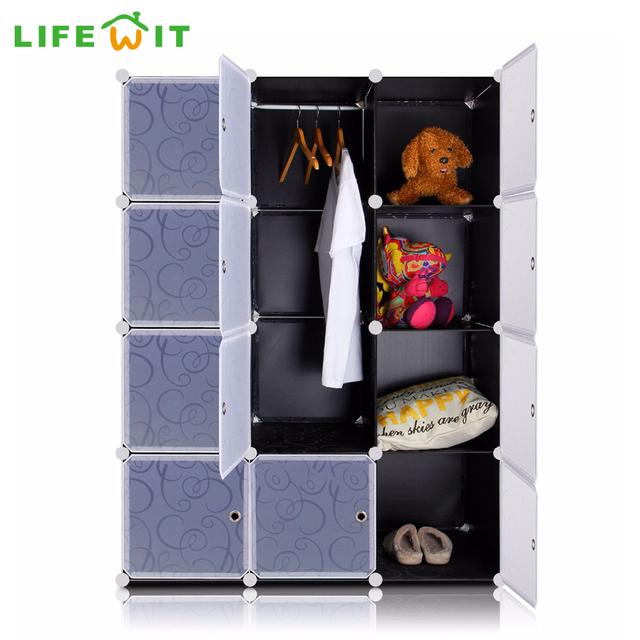Lifewit 12 Cubes Diy Wardrobe Plastic Closet Organization Wardrobes For Sale Custom Closets Coat