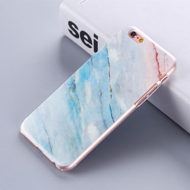 Marble Design Hard Phone Cases for All iPhone Mobiles