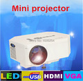 2015 newest Native 640x480 Support 1080P HDMI Mini LED Digital Home Theater Projector With HDMI AV IN/USB/SD Ports