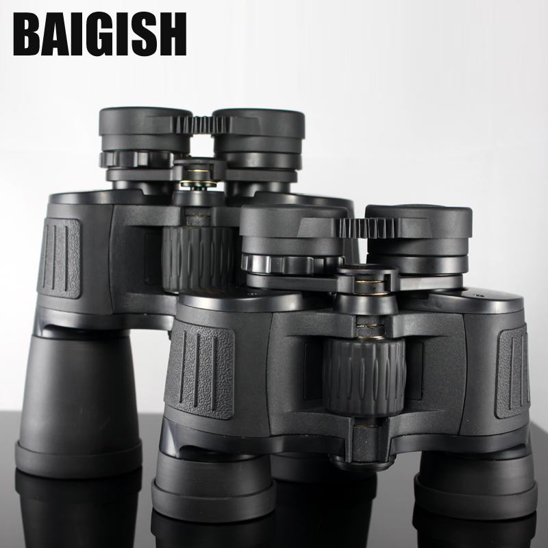 Baigish Super Large Eyepiece Binoculars Professional Telescope Hd High Power Wide-angle binocular for Hunting Lll Night Vision lll night vision for hunting binoculars telescopes 20x50 nitrogen waterproof high power definition hd 168ft 1000yds 56m 1000m