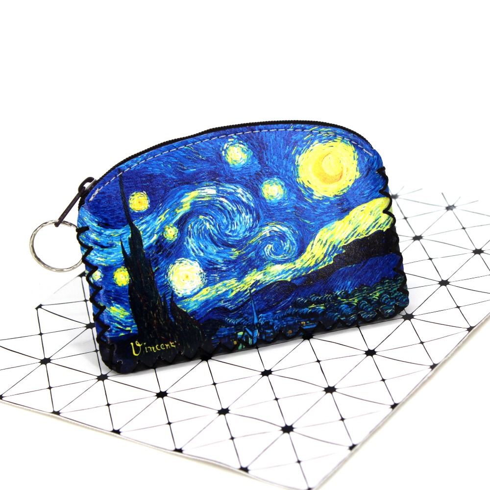 New BUDAPEST Capital Vintage Coin Purses Women Student's Clutch Zipper Money Bag Handmade Zero Wallets Ladies Pouch Carteira