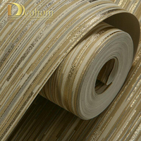 Modern Glitter Luxury 3d Striped Wallpaper For Walls Bedroom Living Room Backgrounds Decor Non Woven Home
