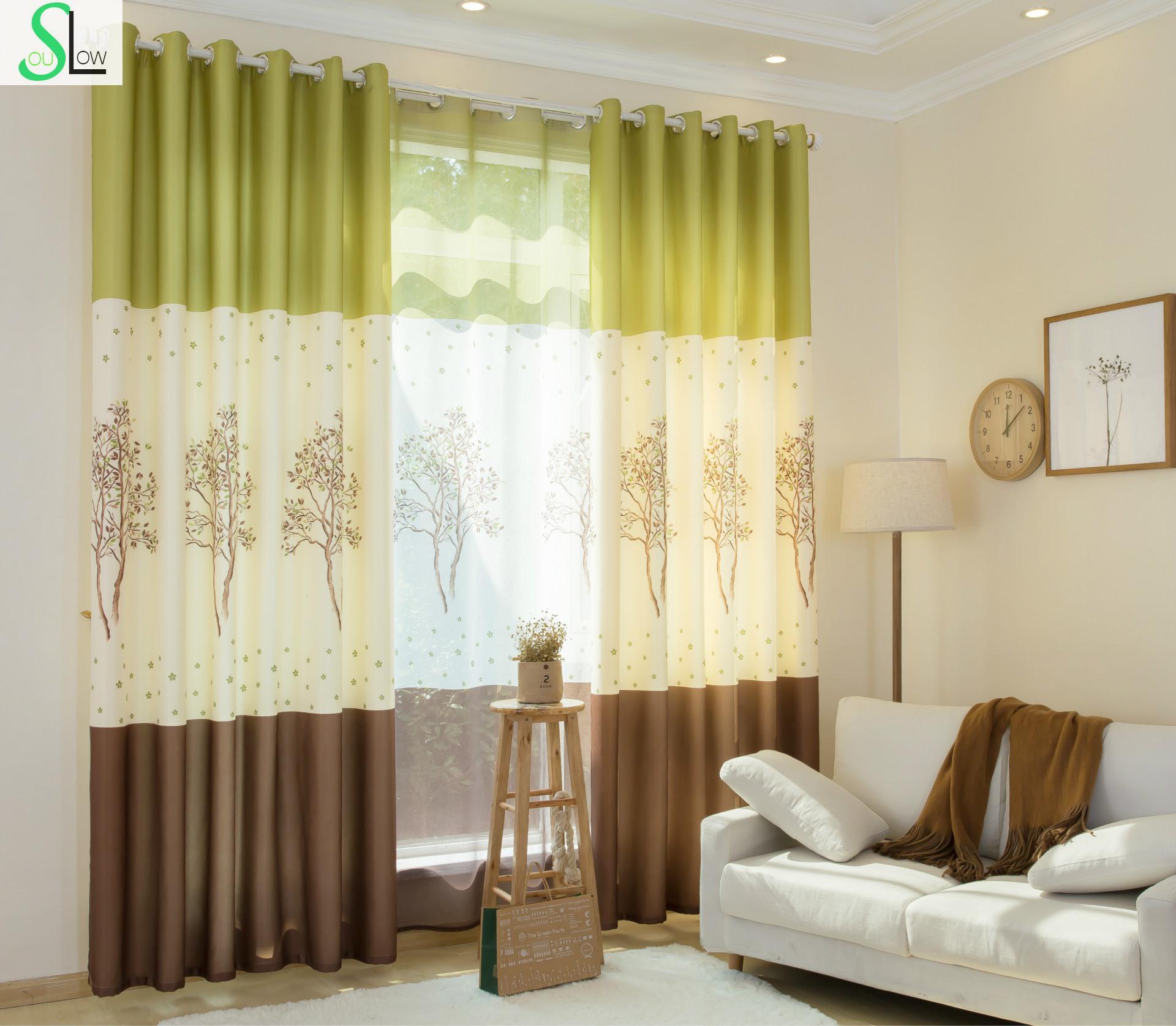 online kaufen großhandel grüne farbe vorhänge aus china ... - Wohnzimmer Grun Blau