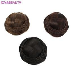 Радость и красота зажим для волос в волосы шиньон валик-бублик булочка шиньон синтетический шиньон 3 цвета доступны бесплатная доставка