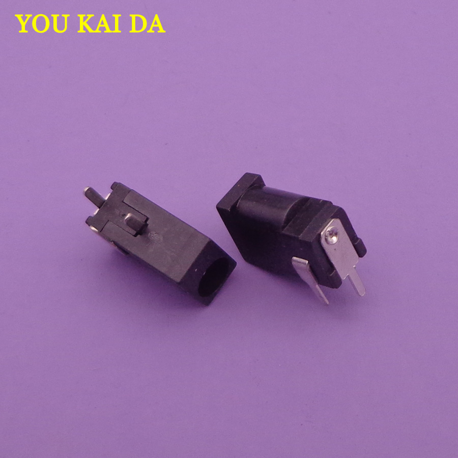 30PCS/Lot <font><b>3.5</b></font> / 1.35 mm Female <font><b>DC</b></font> Power Laptop Jack <font><b>Plug</b></font> Socket Inner Diameter <font><b>1.35mm</b></font> / Outer Diameter 3.5mm Free Shipping image