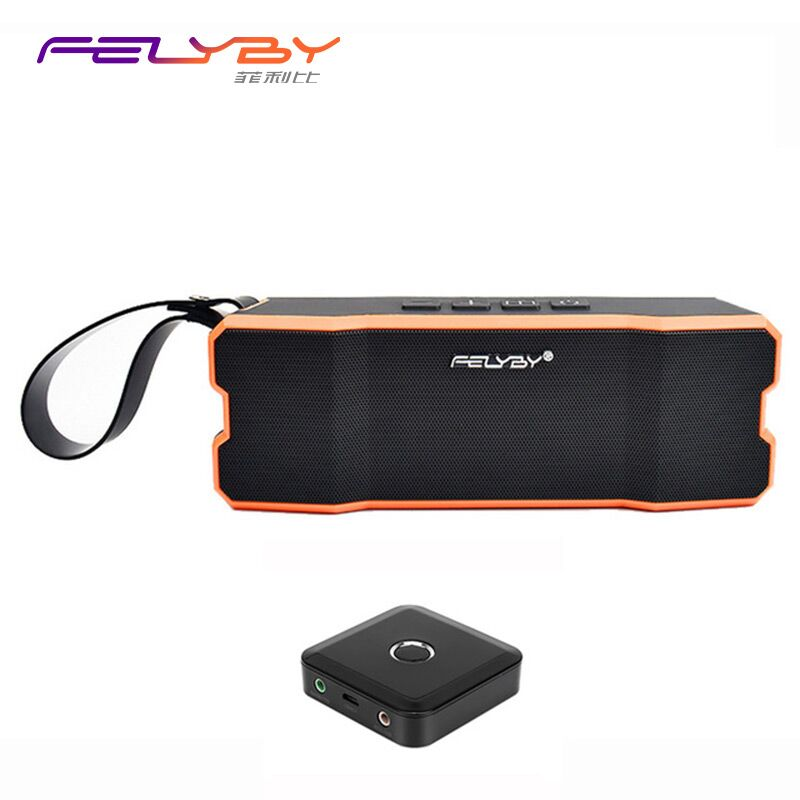 FELYBY IPX6 waterproof wireless Bluetooth speaker home outdoor portable Bluetooth receiver speakers