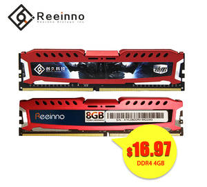 Reeinno memory ram ddr4 4 GB 8 GB 16 GB 2400 MHz 1.2 V 288pin Lifetime warranty high