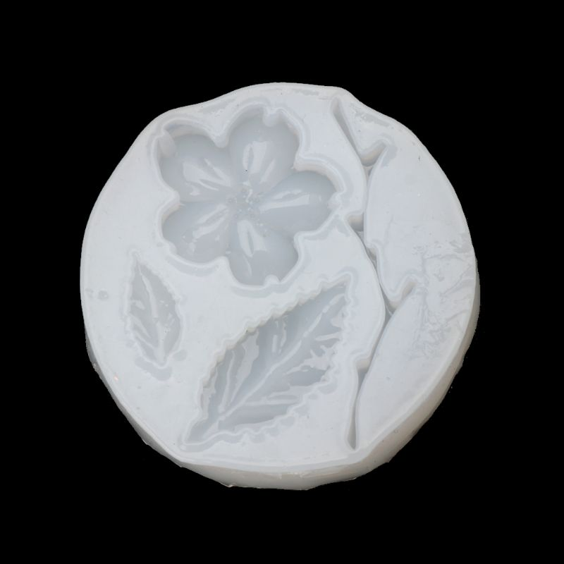 Flower Leaf Tree Branch Pendant Silicone Mold Epoxy Resin Craft Jewelry Making