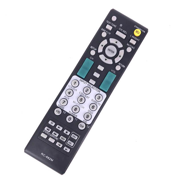 US $7 37 18% OFF|New For ONKYO RC 682M Audio/Video Receiver Remote Control  RC682M RC 681M RC 606S Manual With Full Code Booklet TXSA605 TXSA8560-in