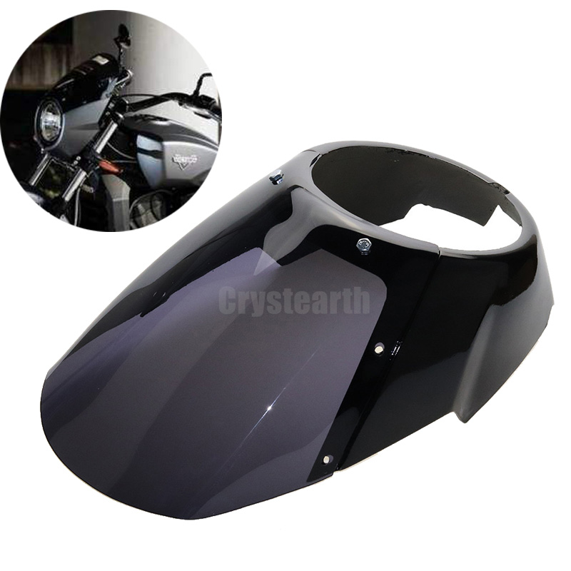 Motorcycle Motorbike Motor Front Headlight Visor Fairing Headlamp Mask Kit For Victory Octane 2017 багажники inno