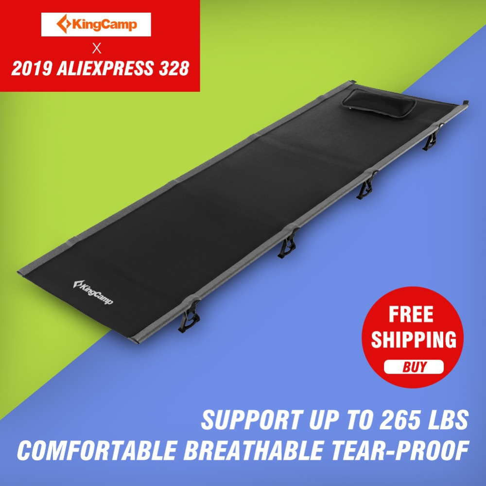 Opklapbed 120 190.Kingcamp Ultralight Single Folding Bed Weight Capacity 120kg Camping
