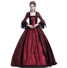 17 18th Century Women Gothic Victorian Queen Princess Costume Masquerade  Maxi Ball Gown Lace Dress Clothes db98d745a763