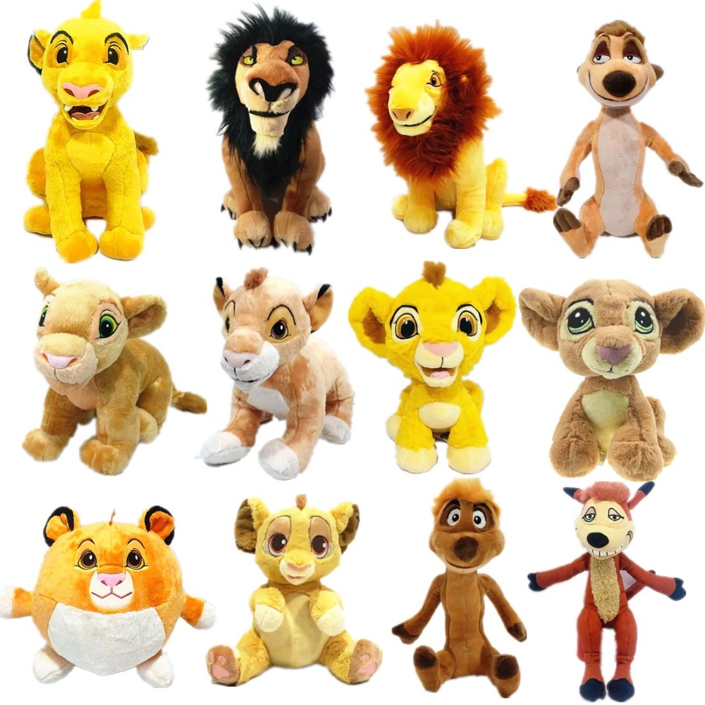 1pieces/lot 20cm Plush Lion Timon Scar Nala Guard Of The Doll Toy Furnishing Articles Children's Gift