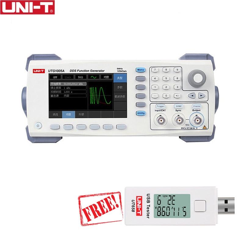 UNI T UTG1005A signal generator synthesizer function generator sintetizador generador de funciones arbitrary waveform generator цена