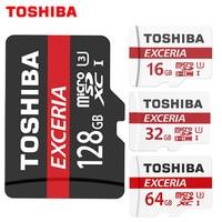 100 Original TOSHIBA Memory Card 64GB 32GB UHS 3 Max Read Speed 90M S 16GB Micro