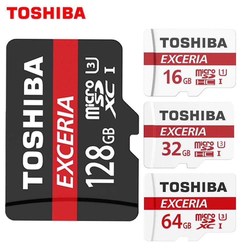 100% Original TOSHIBA Memory Card 64GB 32GB UHS-3 Max Read Speed 90M/s 16GB micro sd card Class10 UHS-1 flash card Microsd