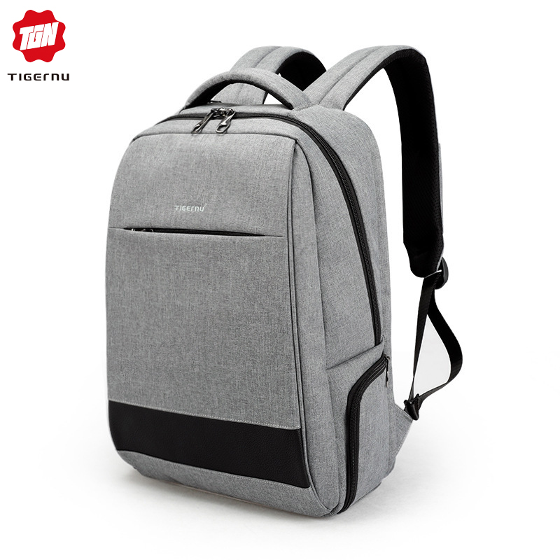 Tigernu Fashion Anti Theft Backpack Men Travel Waterproof USB Charge Backpacks for Male School Bag for Teenage Boys Bagpack 2019Tigernu Fashion Anti Theft Backpack Men Travel Waterproof USB Charge Backpacks for Male School Bag for Teenage Boys Bagpack 2019
