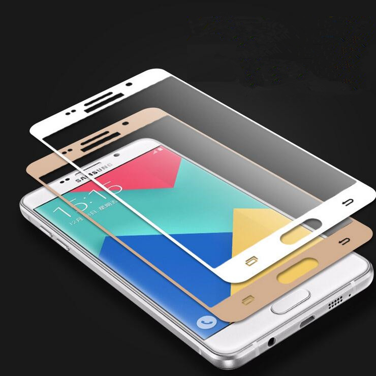 HP02 3D Curved Edge Full Cover Premium Tempered Glass Screen Protector for Samsung Galaxy A5 2016 A5100 A7 2016 Protective Film