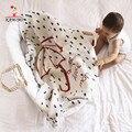 KAMIMI 2017 Umbrella Letter Blanket Knitted Baby Kids Sleeping Blank  Crochet Girls Blanket Bed Sofa Warm Children Nap Swaddling