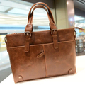 stacy bag hot sale brand high quality men leather handbag male fashion vintage big tote man top-handles briefcase business bag