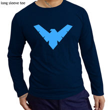 a5b0d959 Batman Robin Classic Nightwing Symbol Licensed Shirt Adult Sizes S-XXL men  cotton tshirt fashion