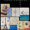 New Arrival Print Pattern PU Leather Case Cover Colored Drawing For New Amazon Kindle Paperwhite 1/2/3 Tablet
