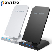 POWSTRO Qi Wireless Charger Fast Charging Holder Fast Charge For Samsung Galaxy S7 S6 Edge Plus