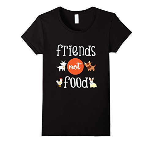 5a8408db Animals Are Friends Not Food Funny Vegetarian Vegan T-Shirt Printed Funny T  Shirt Women Brand Clothing Black Hiphop