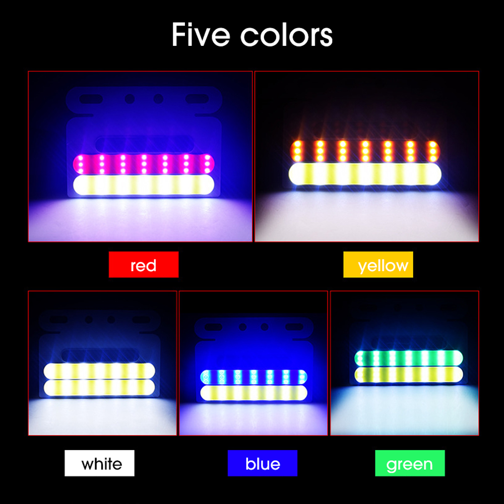 Double Colors LED Truck Strobe Light Width Warning Lamp12V 24V Motocycle Tractor ATV Bus DRL Tail Lights Side Safety Light in Signal Lamp from Automobiles Motorcycles