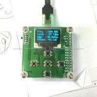Dykb 1mhz-8000mhz rf medidor de potência display oled rf atenuação de potência valor digital medidor 8gmz 3ghz + sofware 10w 30db atenuador