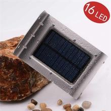 16 LED Solar de Nueva Generación LederTEK Solar Al Aire Libre de Movimiento PIR Sensor de Luz luces de La Pared luces de Seguridad Para Jardín Des