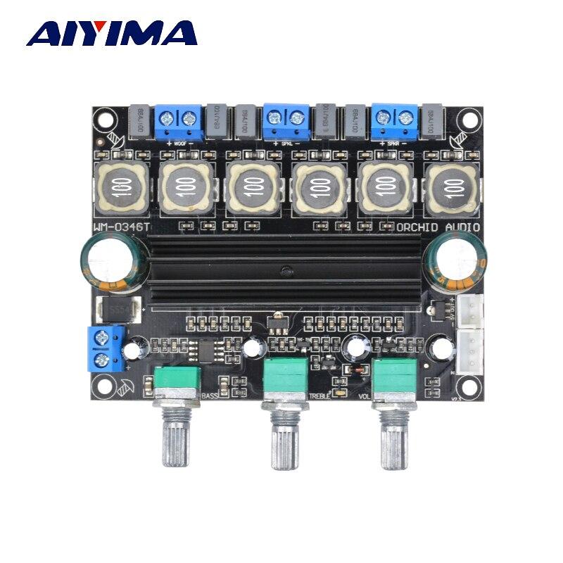 Aiyima TPA3116D2 font b Subwoofer b font font b Amplifier b font Board HIFI Digital 2