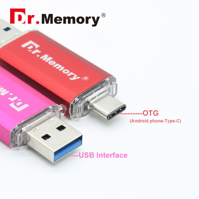 OTG FLASH DRIVE TINY Pen Drive PLASTIC USB Dlash Drive TYPE-C 4gb 8gb 16gb 32gb Flash Card Boy Gift Pendrive USB 3.0 Thumb Drive