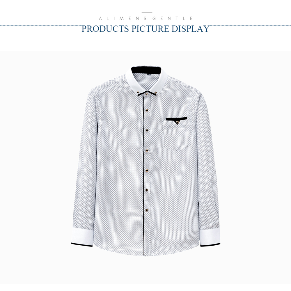 HTB1U.GLaLb2gK0jSZK9q6yEgFXaW - Dot Men Shirt Long-Sleeved Casual Shirts