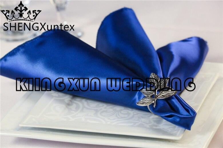 Good Quality Satin Table Napkin For Wedding Decoration