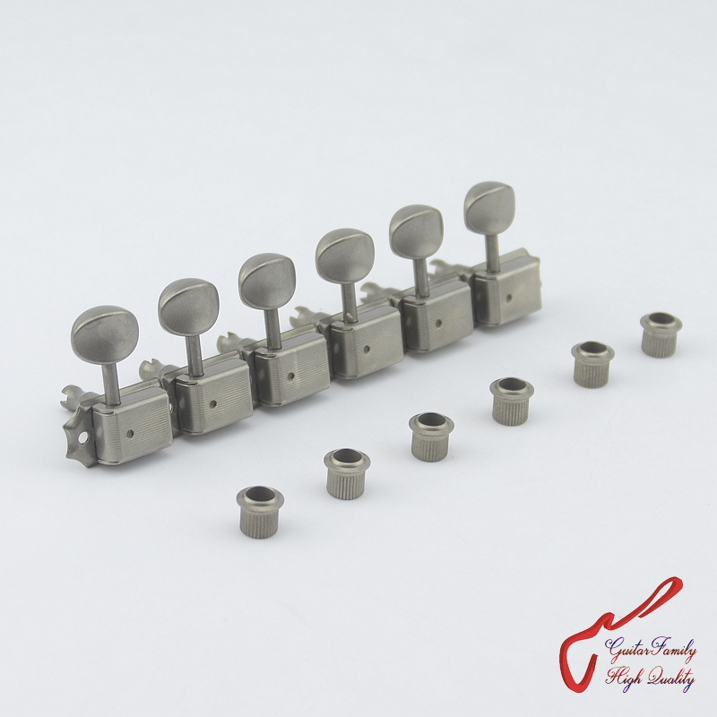 Original Genuine 6 In-line GOTOH SD91-05M Relic Kluson Vintage  Guitar Machine Heads Tuners (Aged Nickel) MADE IN JAPAN купить
