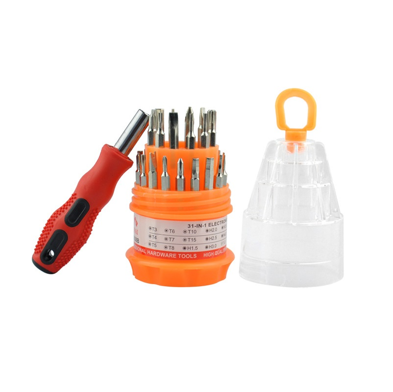 31 In 1 Screwdriver Set Precision Phone Cmputer Camera Slotted Phillips Screwdriver Maintenance Tools Torx Hex Screw Driver Set Delaying Senility