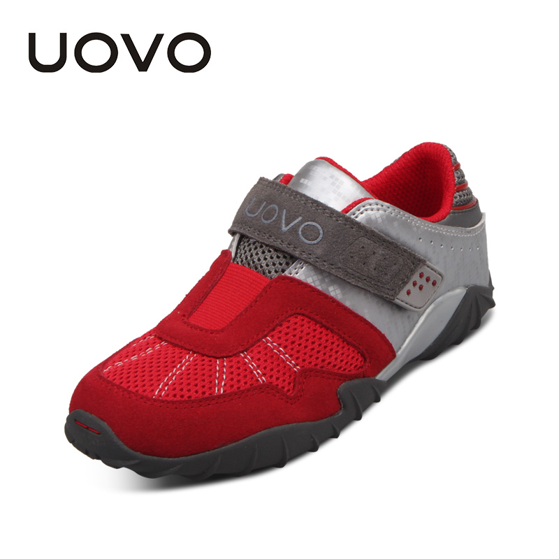 UOVO Children Shoes Racing Style Boys Shoes Breathable Shoes for Little Boys Kids Sneakers Autumn Shoes #29-34